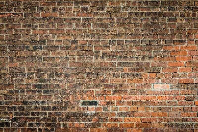 老砖墙纹理样式难看的东西背景 免版税图库摄影
