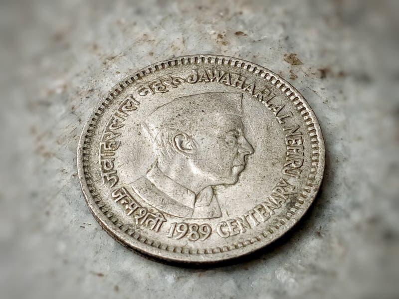 老硬币 库存照片