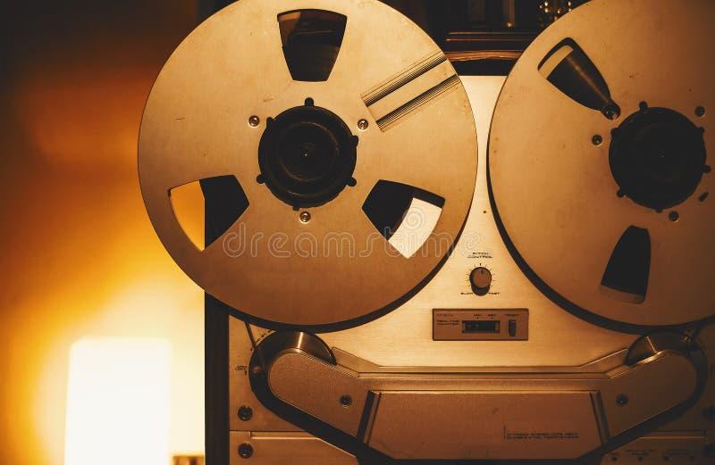 老磁带机 库存图片