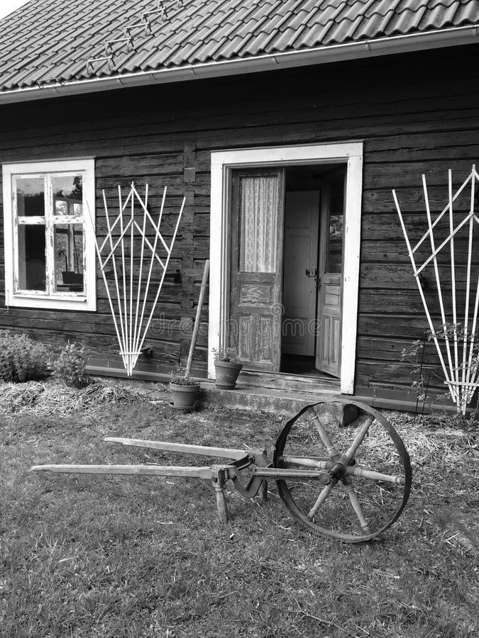 老种田的工具 图库摄影