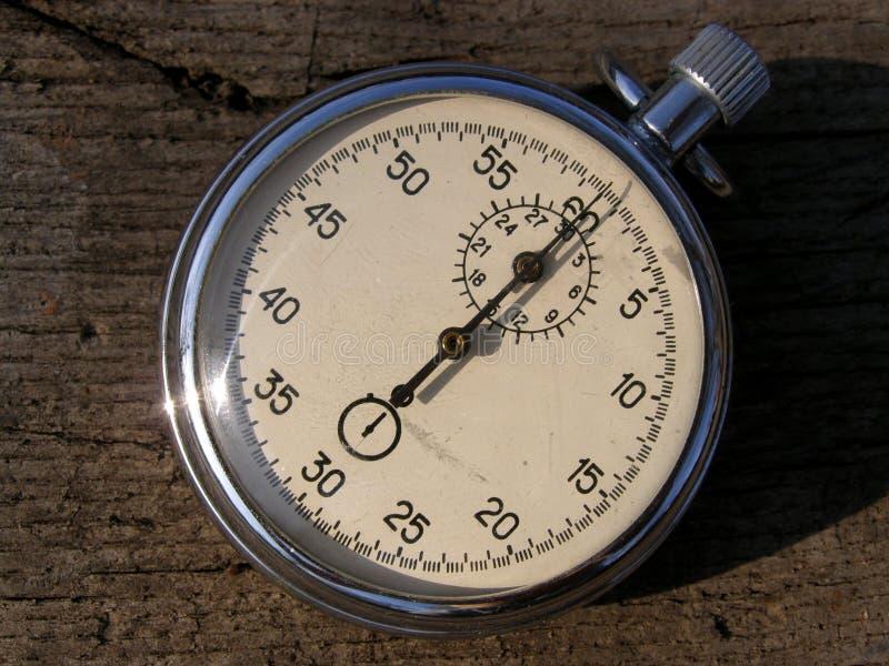 老秒表定时器 免版税库存图片
