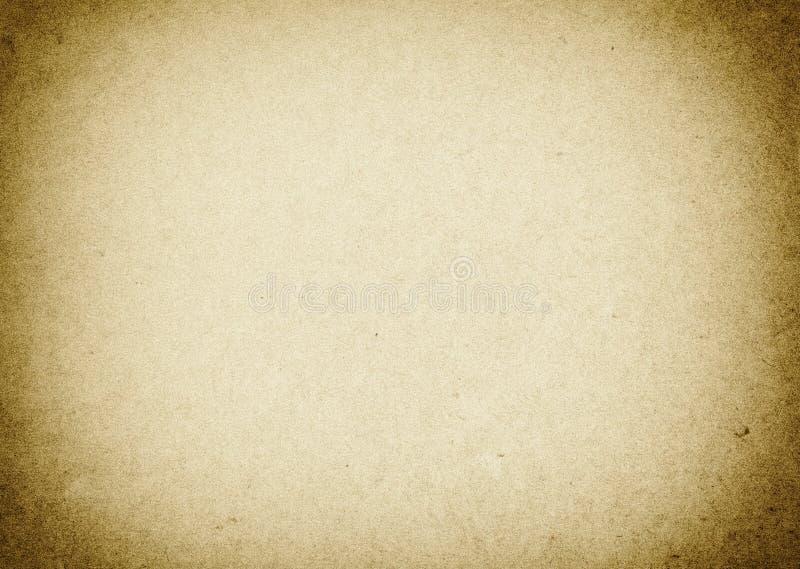 老米黄纸背景难看的东西纹理设计的 库存例证