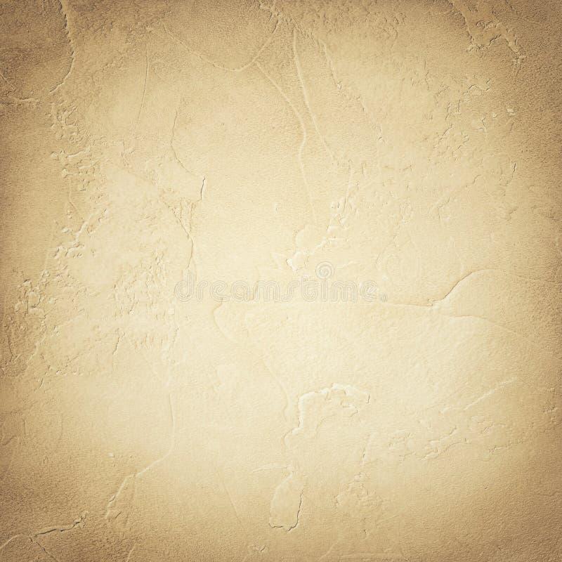 老米黄墙壁纹理难看的东西背景 图库摄影