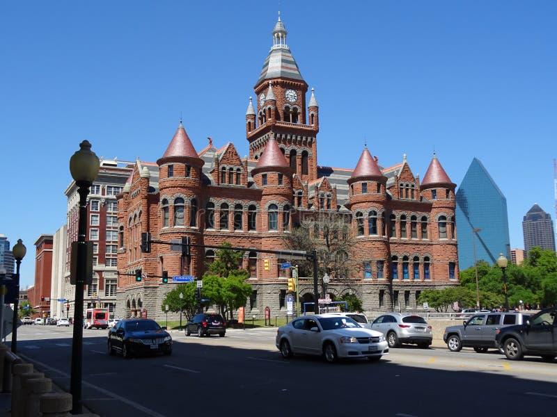 老红色博物馆/老红色法院大楼 图库摄影