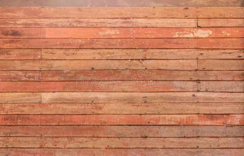 老红色木小条纹理样式细节  库存照片