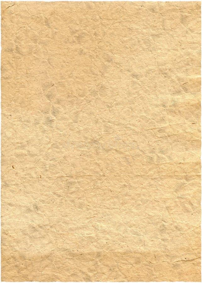 老纸减速火箭的被剥去的葡萄酒 图库摄影