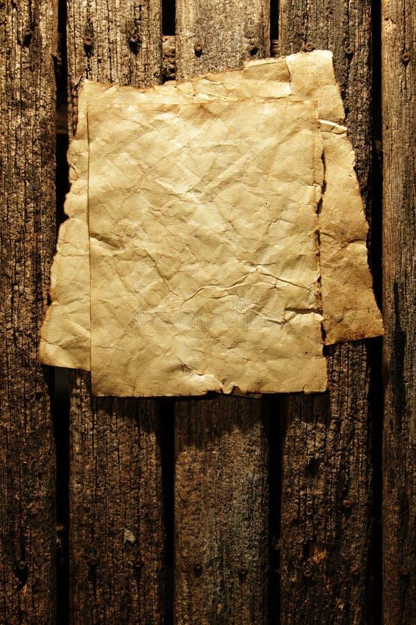 老纸墙壁 库存照片