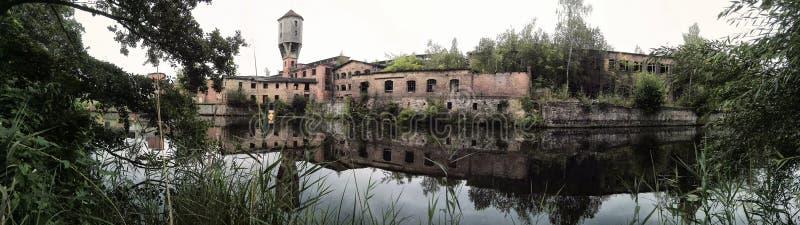 老纸工厂 免版税库存图片