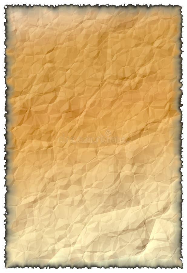 老纸张。 免版税图库摄影