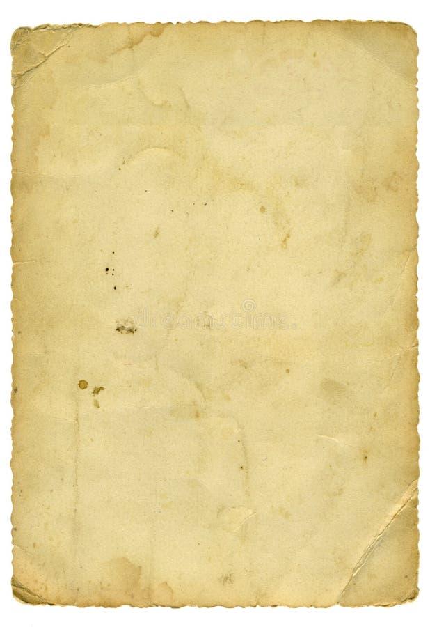 老纸张 库存图片