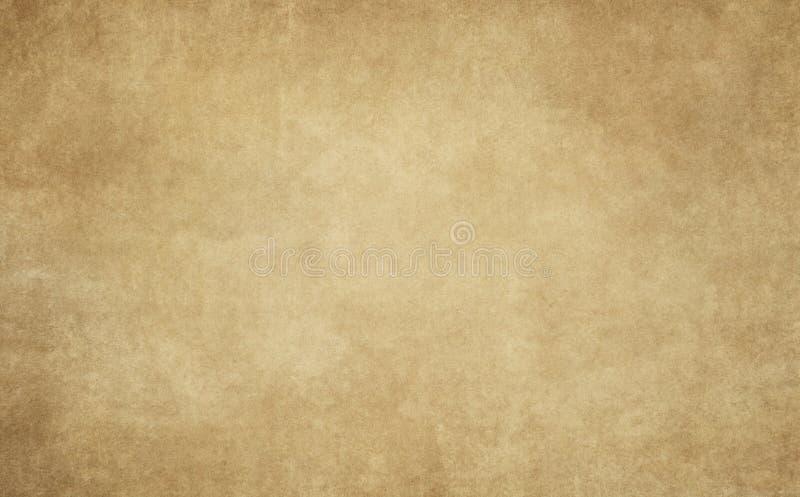 老纸或羊皮纸纹理 免版税库存照片