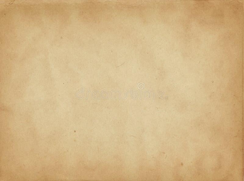 老纸纹理或背景 库存图片