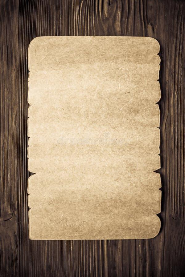 老纸纹理木头 库存例证
