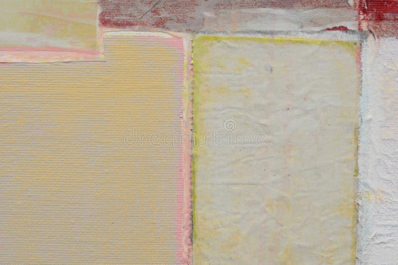 老纸纹理 在帆布的被碾压的纸 创造性的抽象手画背景,墙纸,纹理 抽象派 免版税库存照片
