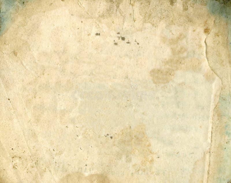 老纸纹理 珍宝地图或葡萄酒的难看的东西老纸 免版税库存照片