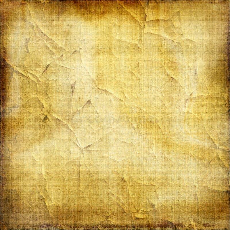老纸纹理 库存例证