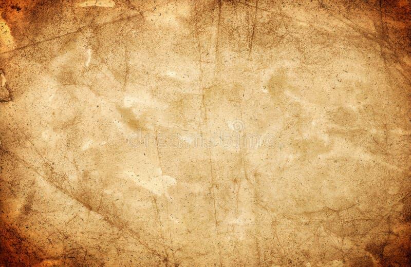 老纸纹理 免版税库存照片