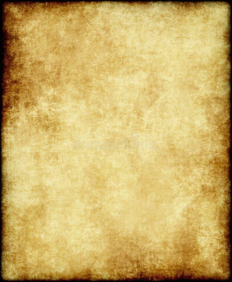 老纸羊皮纸 向量例证