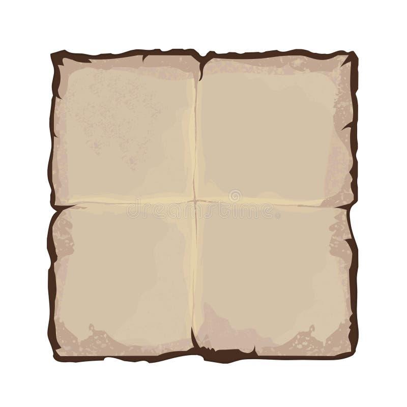 老纸艺术 皇族释放例证
