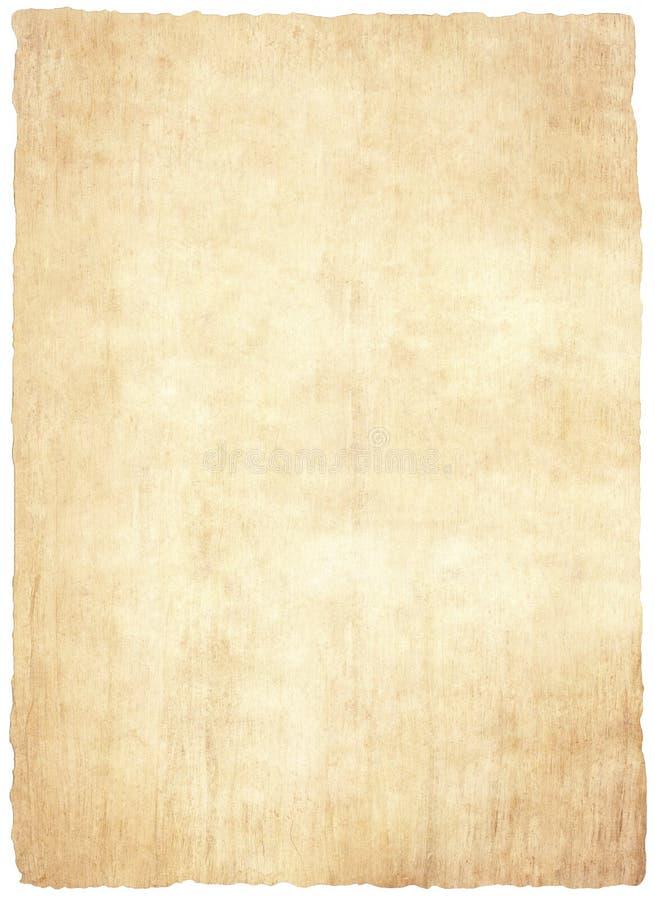 老纸莎草纸 向量例证