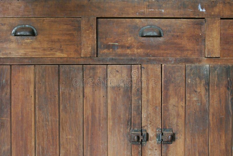 老细木家具 免版税库存图片
