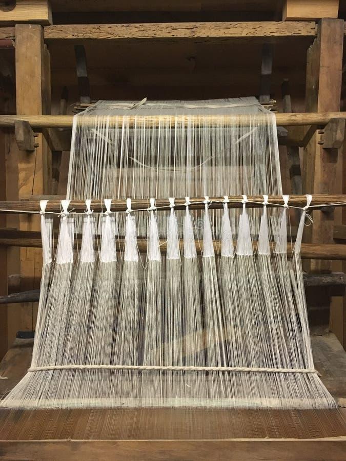 老织布机 免版税库存图片