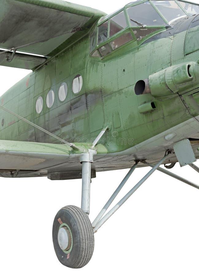 老经典内布拉斯加州居民飞机 免版税图库摄影
