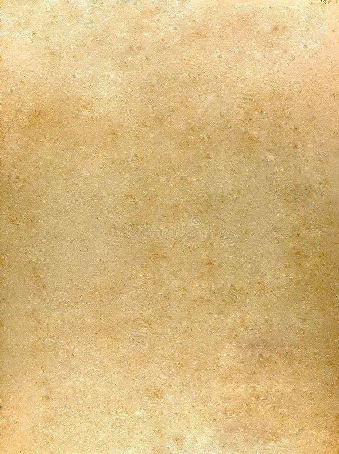 老羊皮纸黄色 库存图片