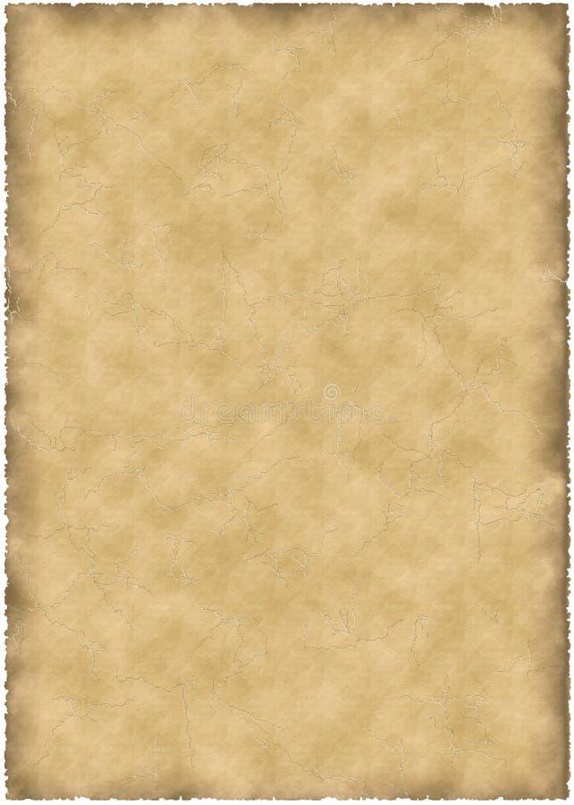 老羊皮纸 免版税库存图片