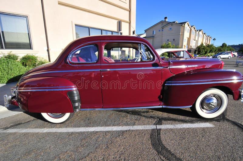 老美国汽车 免版税库存图片