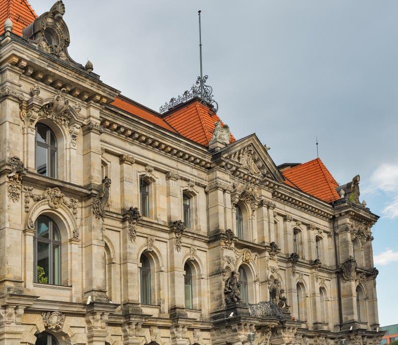 老美好的建筑学在米特区区,柏林,德国 库存照片