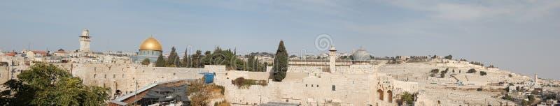 老耶路撒冷 免版税图库摄影