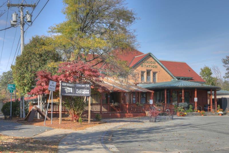 老联合驻地在北安普顿,马萨诸塞 免版税库存照片