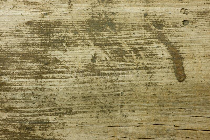 老肮脏和被抓的木头 库存图片