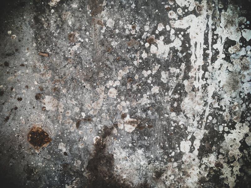 老肮脏的油漆具体背景 库存照片