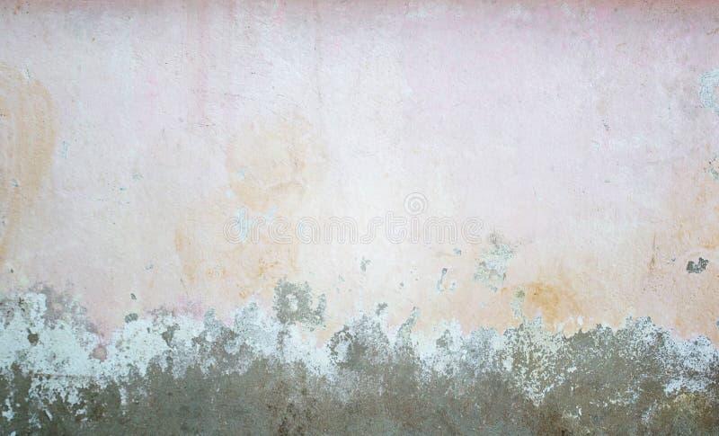 老肮脏的混凝土或水泥墙壁纹理  库存图片