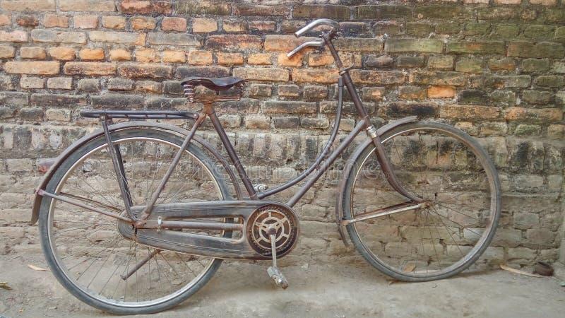 老自行车 图库摄影