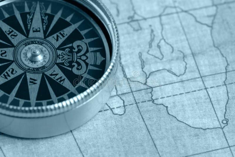 老航海图 库存照片