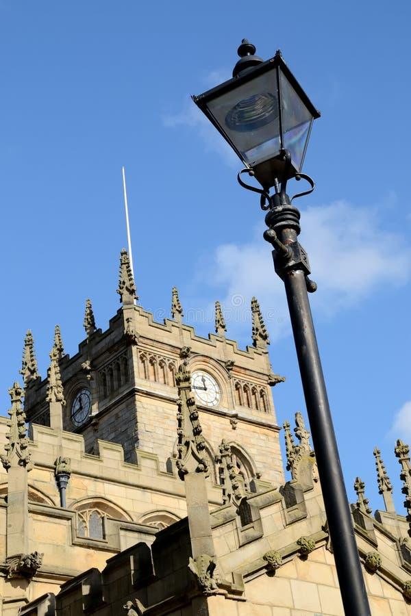 老英国教会。 免版税库存图片