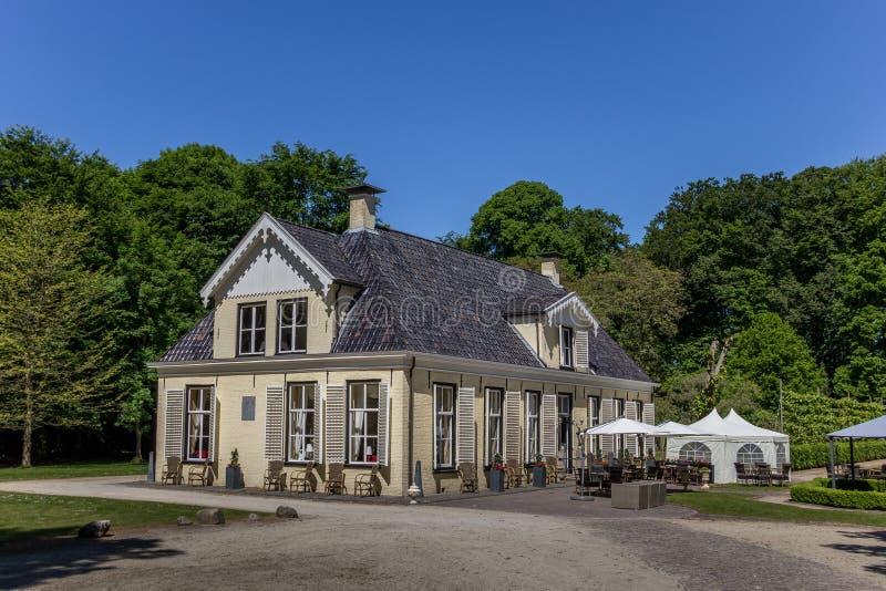 老荷兰豪宅Lemferdinge 免版税库存图片