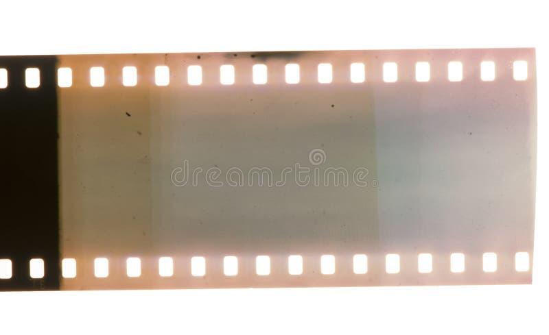 老葡萄酒影片小条。减速火箭的样式 免版税库存照片