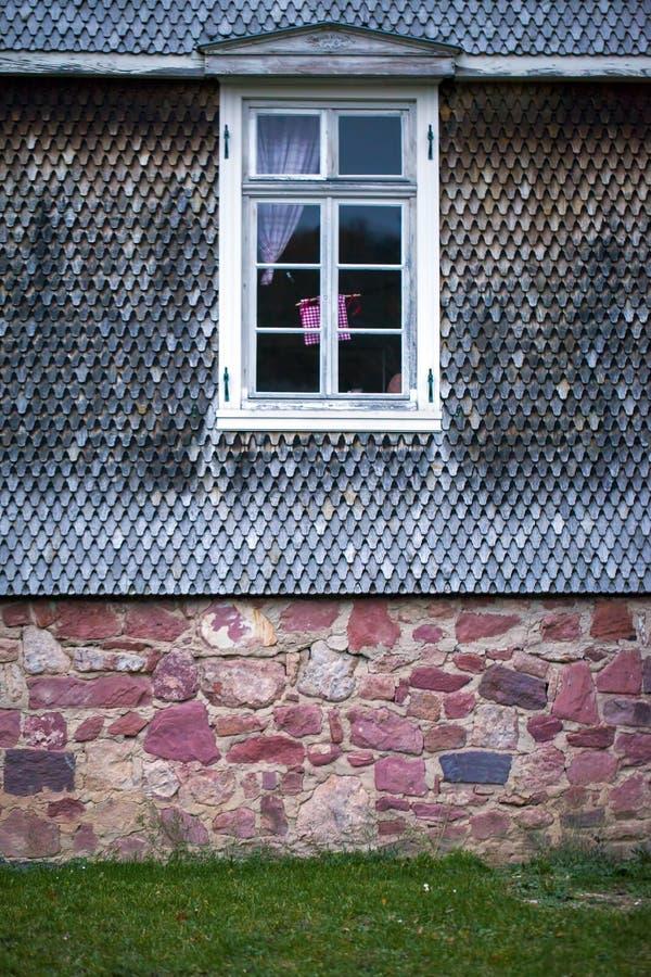 老葡萄酒德语安置建筑学 库存照片