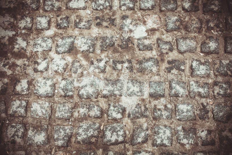 老葡萄酒石头块,背景 库存图片