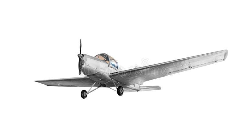老葡萄酒飞机 免版税库存照片