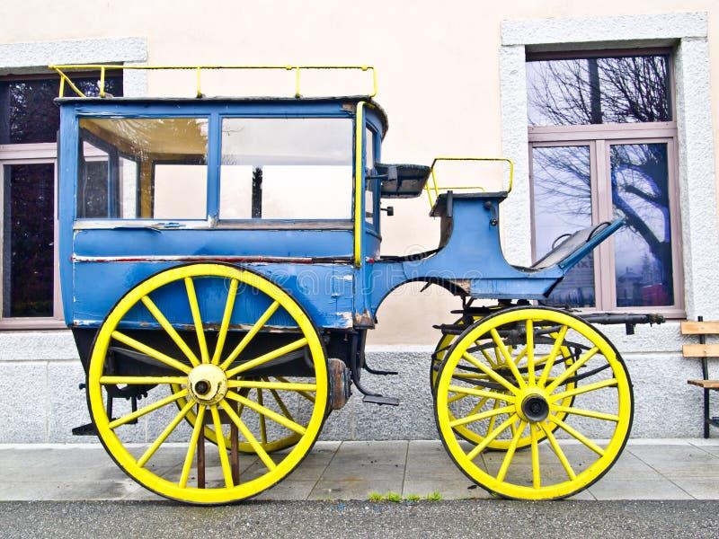 老蓝色支架1 库存图片