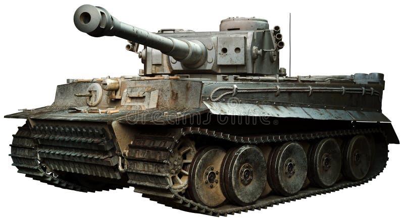 download 老虎坦克3d例证 库存例证.