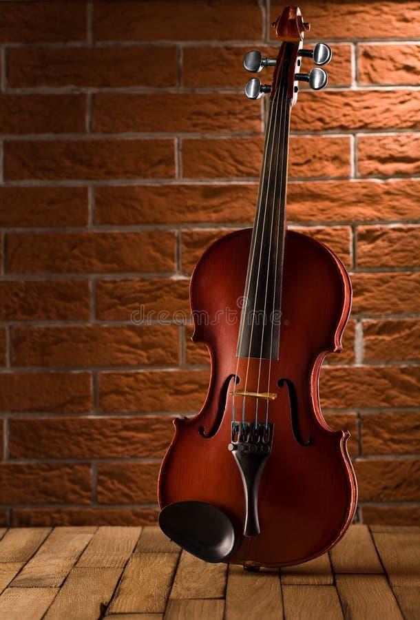 老表小提琴 图库摄影