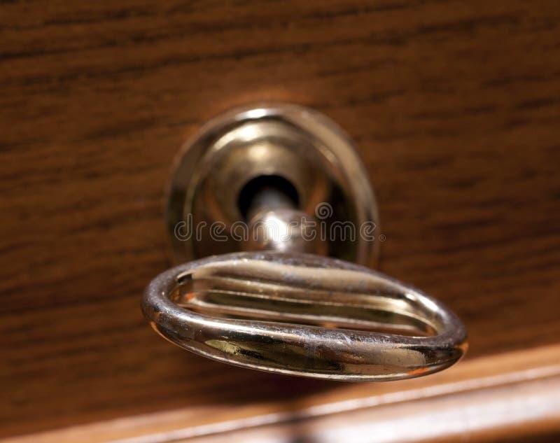 老被塑造的关键锁定 库存照片