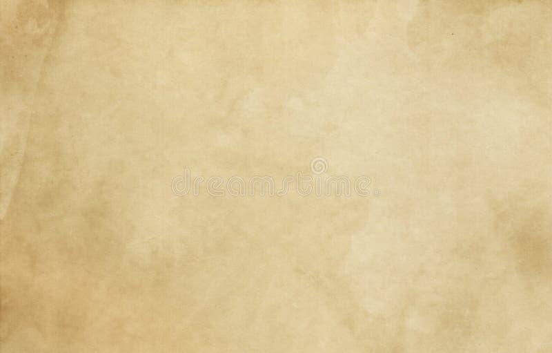 老被弄脏的纸纹理 皇族释放例证