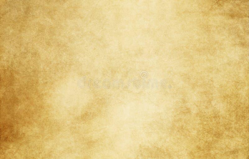 老被弄脏的纸纹理 免版税库存图片